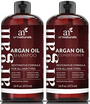 Art Nautrals Argan Oil Shampoo and Conditioner set (photo credit: Amazon)
